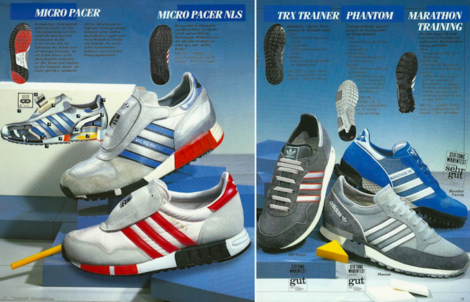 adidas Micro Pacer / TRX Trainer (1987)