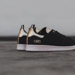 ブラックヌバック+メタリックゴールドのスタンスミス [CLOT x adidas Originals Stan Smith]登場