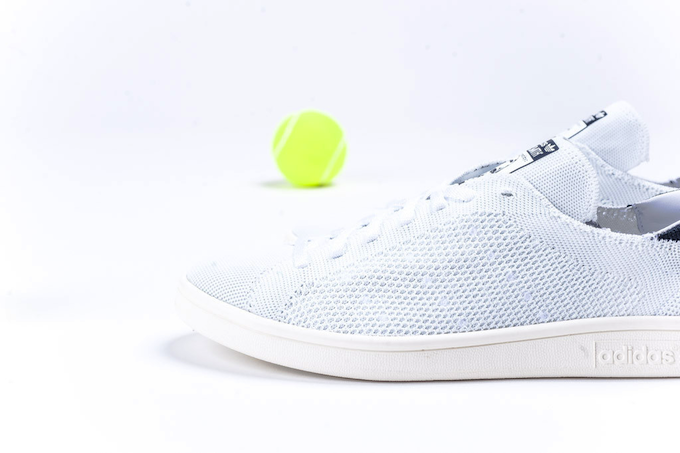 adidas Originals Stan Smith Primeknit – Black / White