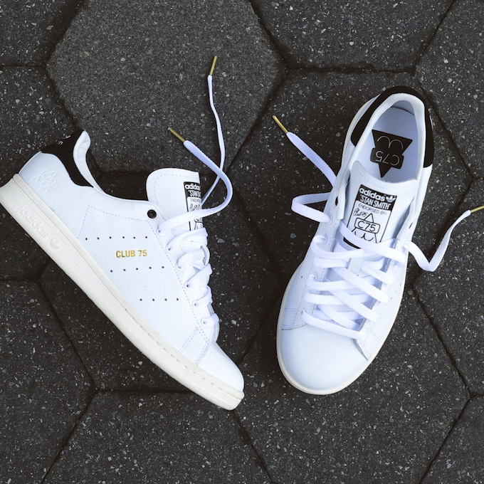 Club75 x adidas Originals Stan Smith - White / Black