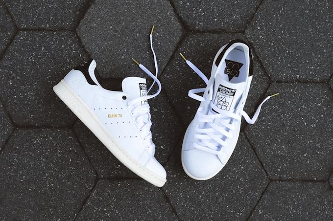Club75 x adidas Originals Stan Smith - White / Black